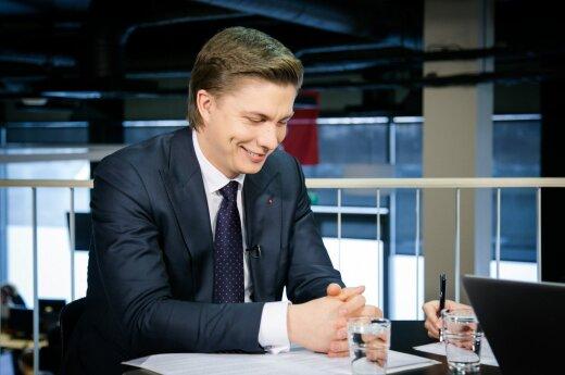 DELFI TV conference: Mindaugas Sinkevičius