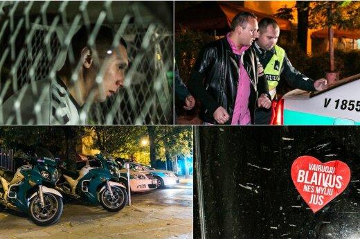 В Вильнюсе кто-то избил пьяного водителя