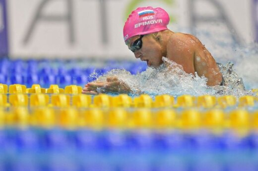 Julija Jefimova Europos plaukimo čempionate trumpame baseine iškovojo net keturis aukso medalius