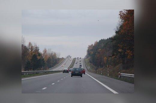 У автомагистрали – человеческие останки