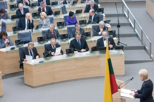Extraordinary Seimas session was not ended properly, commission rules