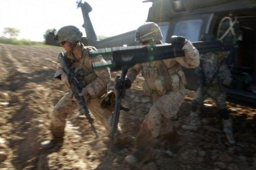 Юкнявичене: никто не говорит о дате ухода из Афганистана