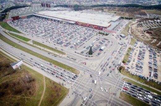 Akropolis shopping mall in Vilnius