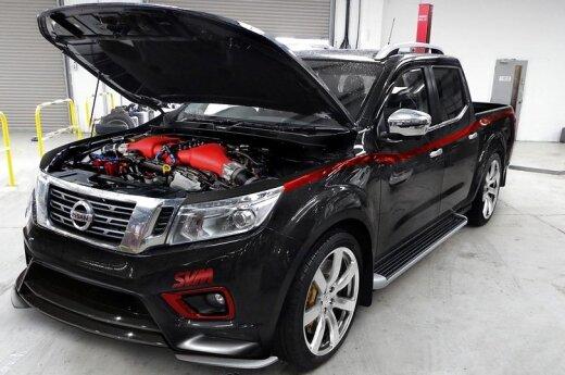 """SVM patobulintas """"Nissan Navara"""""""