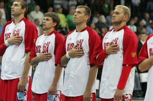Rusijos rinktinės krepšininkai