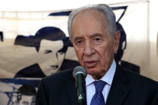 Peres: Bez poparcia USA Izraelowi grozi śmierć