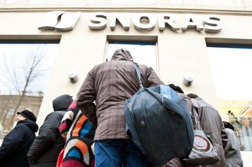 70% жителей считает, что действия в связи с банком Snorаs надо было предпринимать раньше