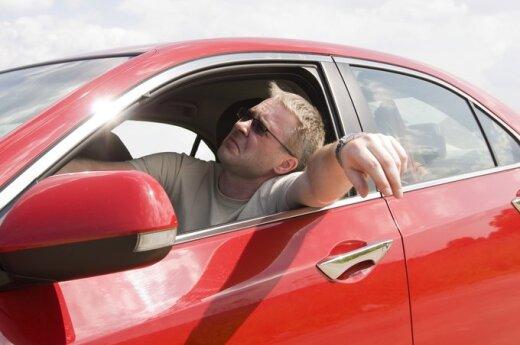 Nuobodžiaujantis vairuotojas