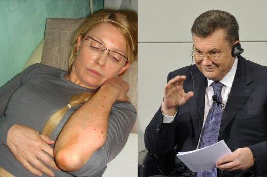 Julija Tymošenko, Viktoras Janukovičius