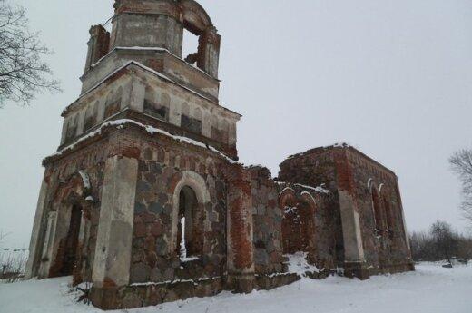 Bažnyčia Rudaminoje. Autoriaus nuotr.