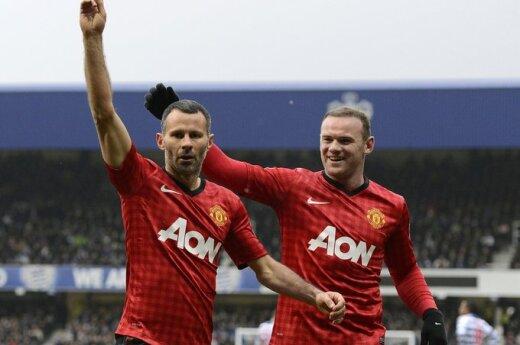 Ryanas Giggsas ir Wayne Rooney