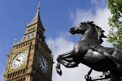 В центре Лондона - портрет Британии