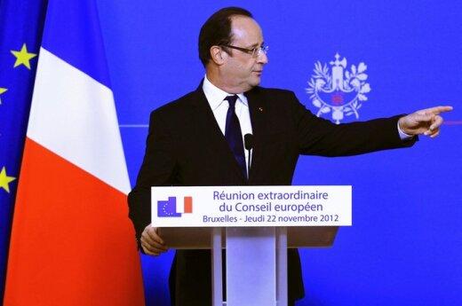 Francois Hollande'as ES lyderių susitikime
