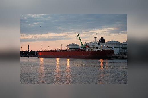 """Uoste – 228 metrų ilgio tanklaivis """"Collin Jacob"""""""