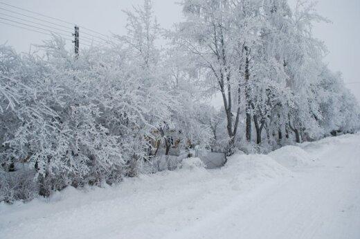 Savaitgalį Lietuvoje sušalę mirė 4 žmonės, vienas iš jų sušalo savo namuose