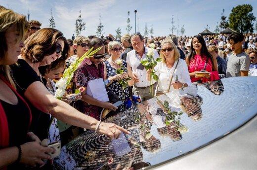 Мемориал жертвам катастрофы MH17