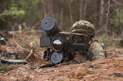 """В Литве начинаются военные учения """"Удар молнии"""""""