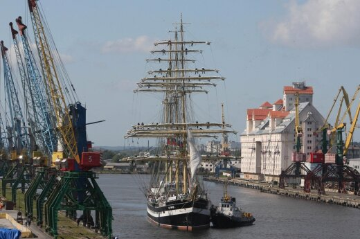 The Port of Kaliningrad