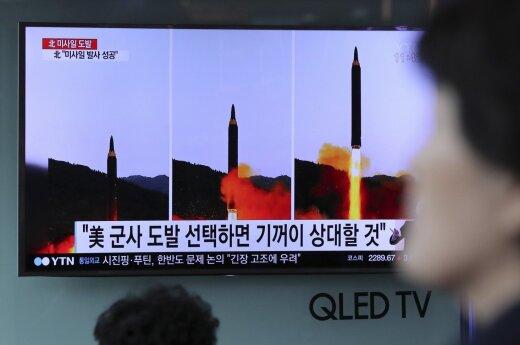 Jungtinės Valstijos ragina dar labiau griežtinti sankcijas Šiaurės Korėjai