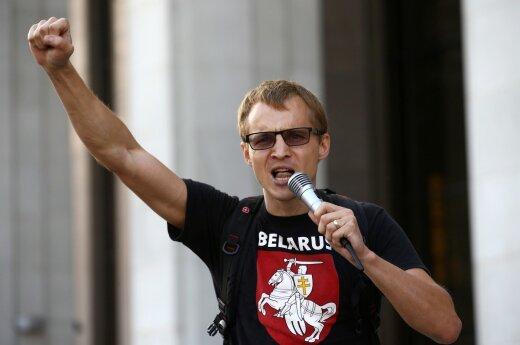 Лидера протестов в Минске задержали во время трансляции в Facebook