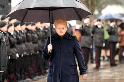 Dalia Grybauskaitė: Niemiec nie przyjdzie z odsieczą, jeśli sami nie będziemy się bronić