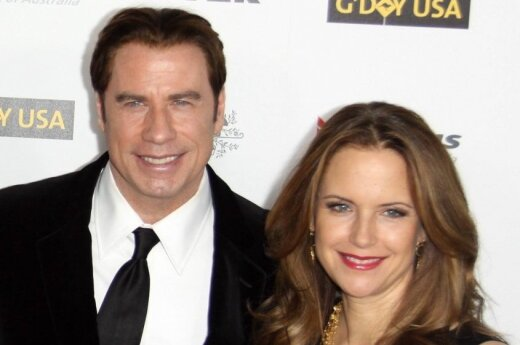 Johnas Travolta ir Kelly Preston