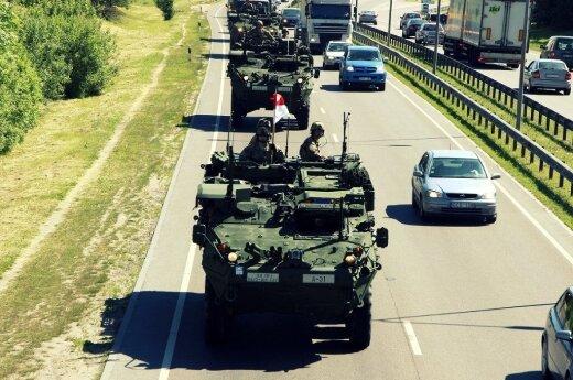 Baltijos šalyse JAV ekspertai vertino pasiruošimą gintis: dėl Rusijos viskas nuspręsta