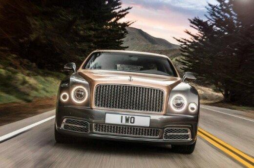"""Atnaujintas """"Bentley Mulsanne"""""""