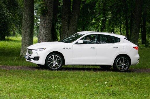 """""""Maserati"""" pardavimai Rusijoje išaugo vienuolika kartų"""
