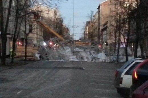 Сильный ветер нещадно прошелся по странам Балтии