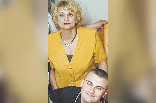 D.Kutraitė su sūnumi
