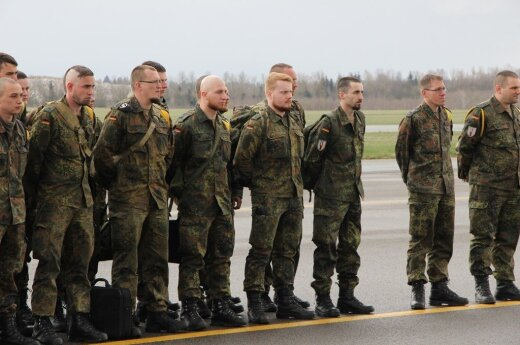 Last German soldiers depart from Lithuania