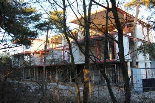 Klaipėdoje, Melnragėje, daugiabučio namo statyba