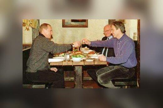 Putinas ir Blairas