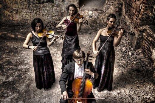 Koncert Fair Play Quartet w Wilnie