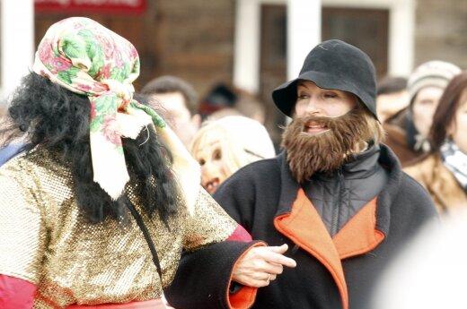Lithuania celebrates Užgavėnės – a festival to drive the winter out