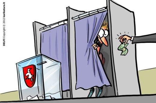 """""""Freedom House"""": Litwa ukarana za """"kupowanie"""" głosów"""