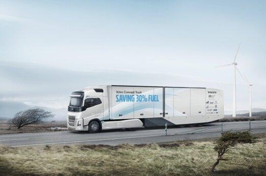 """Sunkvežimis """"Volvo"""""""