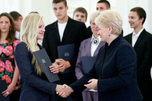 Prezydent odznaczyła orderami litewskich sportowców