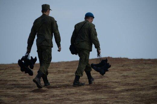 В Кремле заявляют, что солдатов-срочников в Сирию не отправят