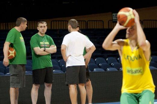 Матчи сборной по баскетболу в Литве не остались без внимания