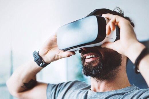 """Virtualios realybės kino salė """"VR Cinema"""""""