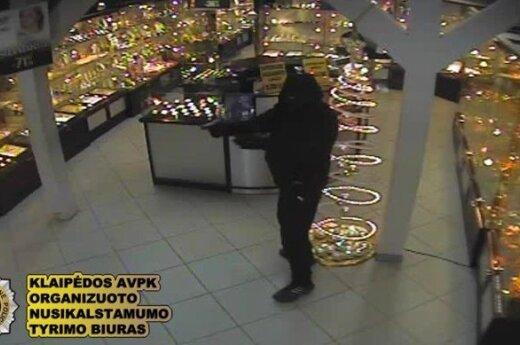 Задержана банда из Латвии, грабившая ювелирные магазины в Литве