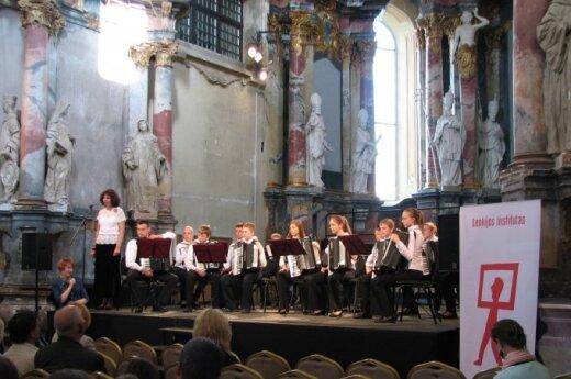 Koncert na Dzień Dziecka w kościele św. Katarzyny w Wilnie