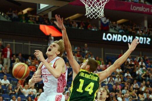 Литвa уступила россиянам и не попала в полуфинал Олимпиады - 74:83