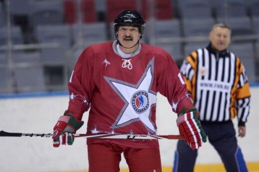 Матч с участием В.Путина и А.Лукашенко