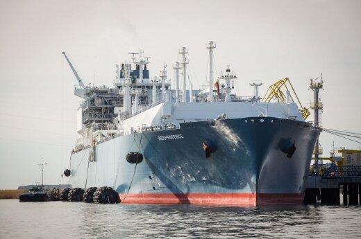 Из-за работ в порту не будет работать терминал СПГ в Клайпеде
