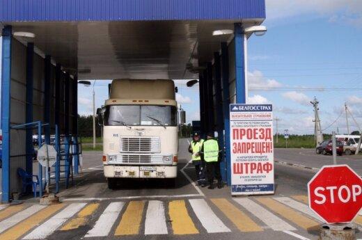 Sunkvežimiai, vežėjai, patikra, Rusija, pasienis