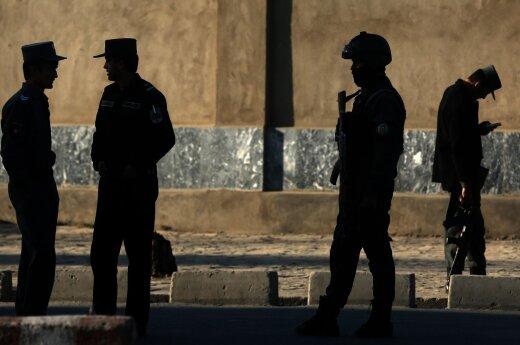 Afganistane nužudyti aštuoni didžiausios JAV karinės bazės sargybiniai