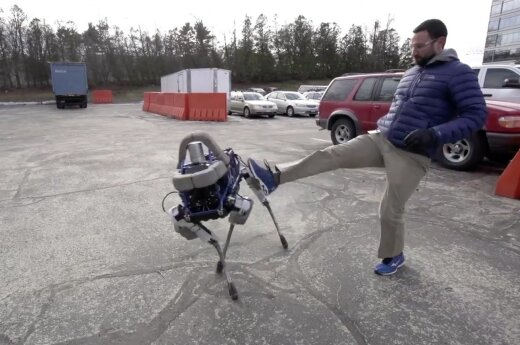 """Boston Dynamics"" robotai"